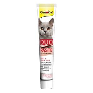 GimCat Anti-Hairball-Duo-Paste Hühnchen + Malz 50g Katzensnack
