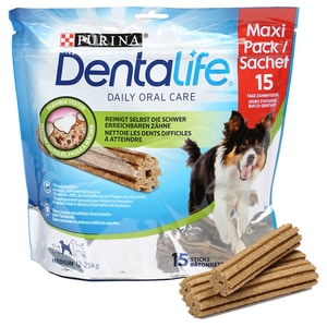 Dentalife Maxipack Medium Hundesnack 345g