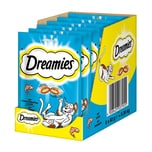 Dreamies Katzensnack mit Lachs 6x60g