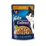 FELIX Sensations Extras mit Huhn und einem Hauch von Bacon