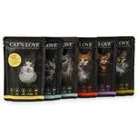 Cat's Love Katzenfutter Multipack 12x85g