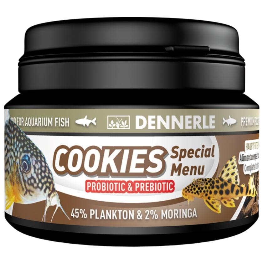 Dennerle Fischfutter Cookies Special Menu