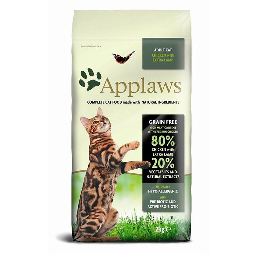 Applaws Cat Hühnchen mit Lamm Katzenfutter 2kg