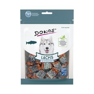 Dokas Lachs in Stückchen 80g Hundesnack