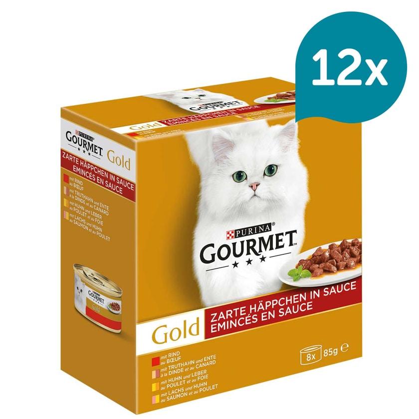 GOURMET Gold Zarte Häppchen Mixpaket