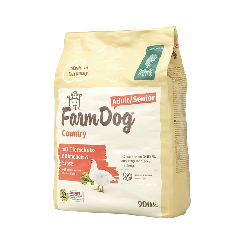 Green Petfood FarmDog Country