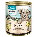 ZooRoyal Charlys Naturkost Huhn mit Kartoffeln & Sonnenblumenöl