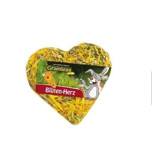 JR Farm Grainless Blüten-Herz 90g Kaninchenfutter