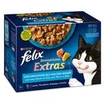 FELIX Sensations Extras Geschmacksvielfalt aus dem Wasser 12x85g