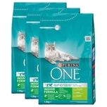 Purina One Bifensis Indoor Formula Truthahn 3x1,5kg